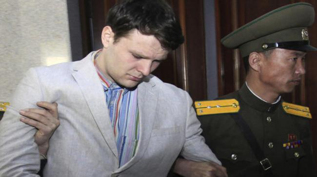 Otto Warmbier, the student who died shortly after being released from a North Korean prison. - Sakshi Post