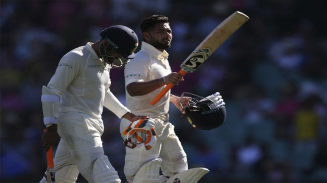 Brilliant batting efforts from Cheteshwar Pujara and Rishabh Pant - Sakshi Post