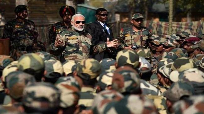 PM Greets Soldiers On Army Day - Sakshi Post