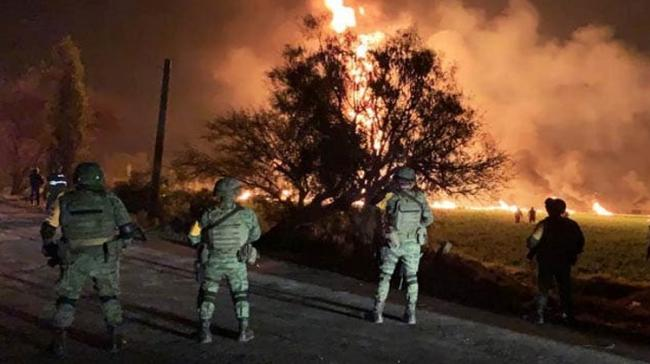 Illegal Pipeline Tap Bursts Into Flames In Central Mexico, Kills 73 - Sakshi Post