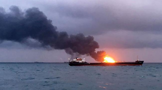 10 Die As Ships With Indian Crew Catch Fire Off Russia - Sakshi Post