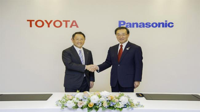 Toyota, Panasonic Announce Electric Car Battery Tie-Up - Sakshi Post