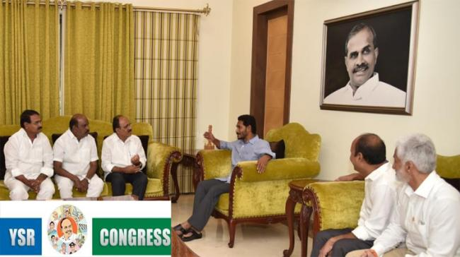 YSRCP Chief YS Jagan Mohan Reddy in talks with  TDP MLA Meda Mallikarjuna Reddy - Sakshi Post