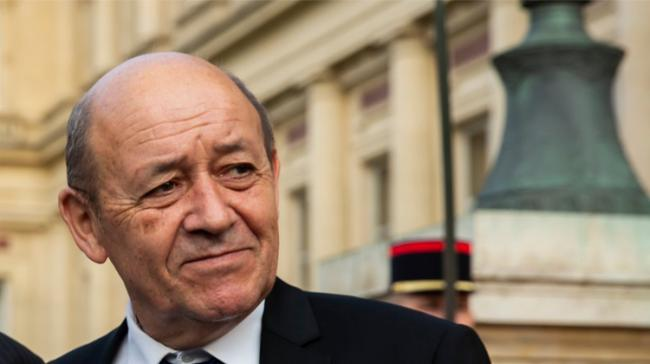 French Foreign Minister Jean-Yves Le Drian - Sakshi Post