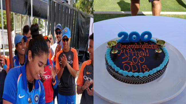 Mithali Becomes First Female To Play 200 ODIs Source:Twitter - Sakshi Post