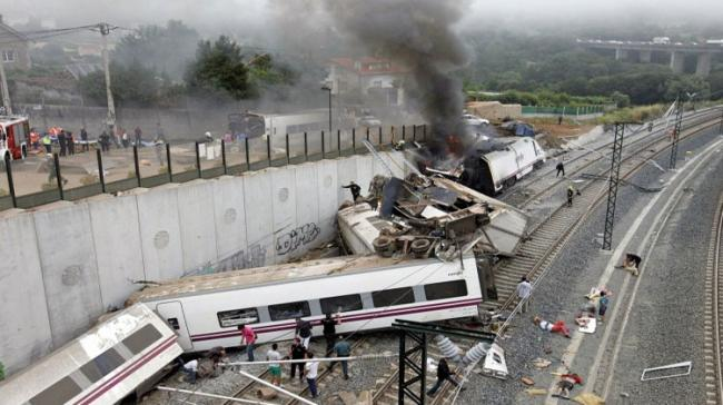 One Dead, Four Injured In Spanish Train Collision - Sakshi Post