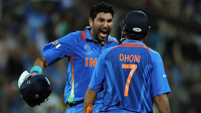 Yuvraj Singh was Player of the Tournament at the 2011 ICC Cricket World Cup - Sakshi Post