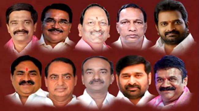 10 Ministers inducted in Telangana Cabinet - Sakshi Post