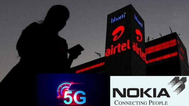 Bharti Airtel To Conduct Trial Of Nokia's 5G-Ready Telecom Gear - Sakshi Post