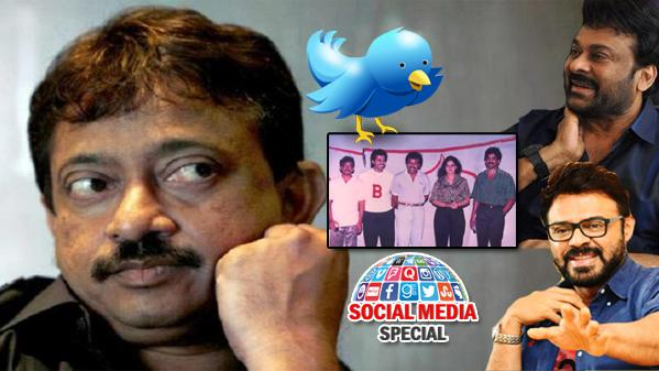 Chiru, Venky Hiding Something: RGV - Sakshi Post