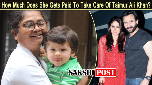 Taimur's Nanny's Fat Pay Cheque Equals That Of A Techie - Sakshi Post