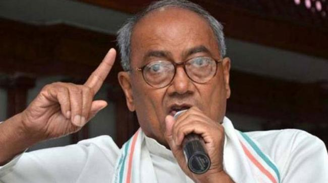 Congress Leader Digvijaya Singh - Sakshi Post