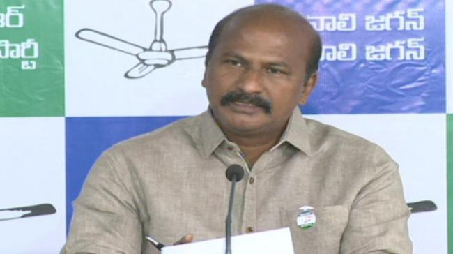 YSRC Party Spokesperson K Rajasekhar - Sakshi Post