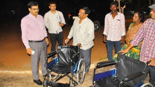 AP Polling Centres Will Have Wheelchairs To Enable Disabled To Vote - Sakshi Post