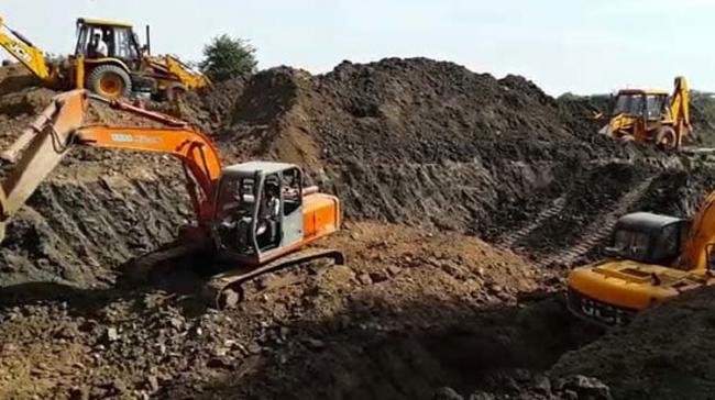 Mining Mafia Try To Run Over Trainee IAS Officer with JCB - Sakshi Post