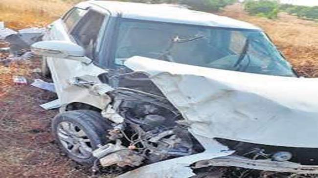 Road Accident took place in Thimmampet village - Sakshi Post