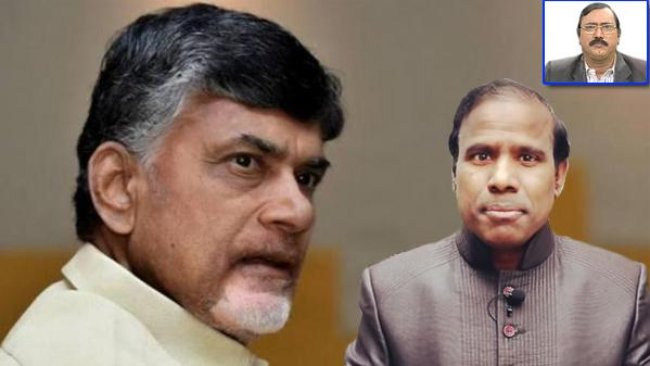 Chandrababu Naidu, KA Paul - Sakshi Post