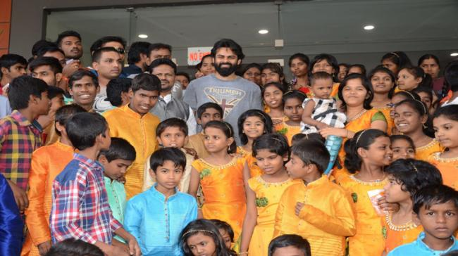 Sai Dharam Tej organized a special screening of Avengers for underprivileged children - Sakshi Post