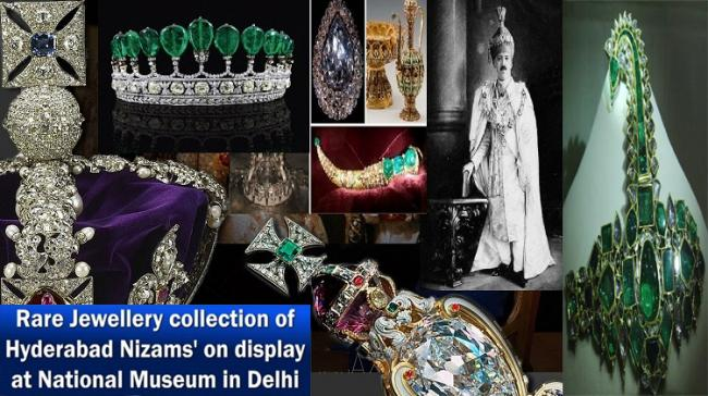 """""""Jewels of India: The Nizam's Jewellery Collection Exhibition Date Extended - Sakshi Post"""