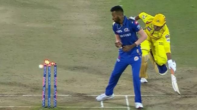 Dhoni's Run-Out - Sakshi Post