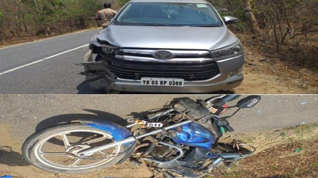 Vehicles damaged in the accident. - Sakshi Post