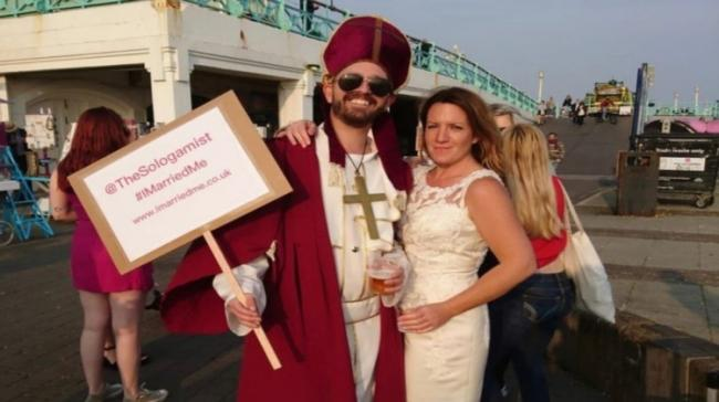 Sophie Tanner decided to marry herself in May 2015 - Sakshi Post