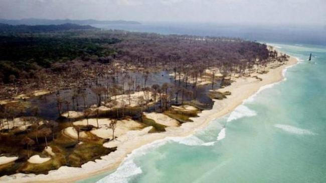 The Andaman and Nicobar archipelago is prone to earthquakes. (Representational) - Sakshi Post