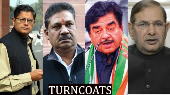 The turncoats in the election - Sakshi Post