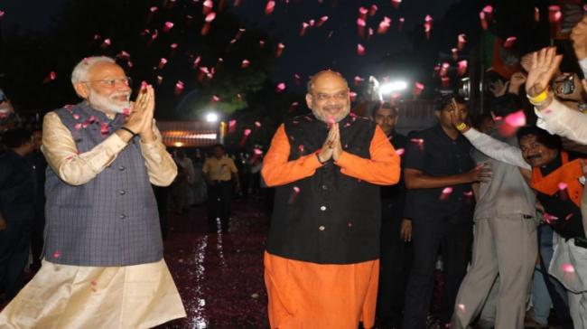 PM Modi after winning the elections - Sakshi Post