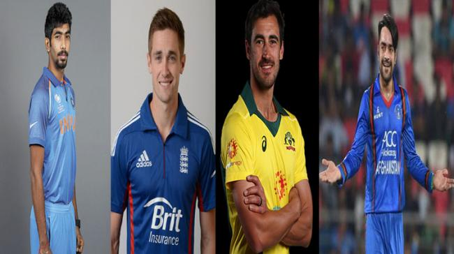 Jasprit Bumrah, Chris Woakes, Mitchell Starc And Rashid Khan - Sakshi Post