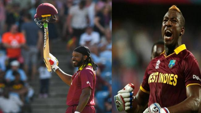Chris Gayle And Andre Russell - Sakshi Post