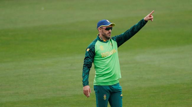 South Africa captain Faf du Plessis - Sakshi Post