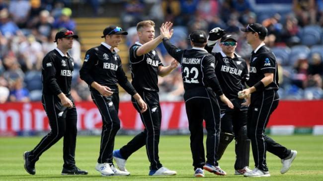 New Zealand paceman Matt Henry led an inspired bowling unit to run through Sri Lanka's batting and power the Black Caps to a 10-wicket win in their World Cup opener - Sakshi Post