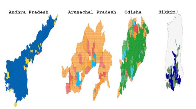 Four States Assembly Elections - Sakshi Post