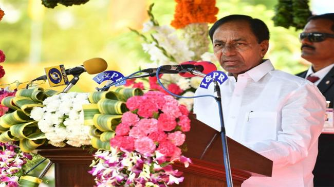 "Farmers in<a href=""https://english.sakshi.com/topic/telangana""> Telangana </a>will get another round of loan waiver amounting up to Rs 1 lakh, Chief Minister K Chandrashekar Rao announced - Sakshi Post"
