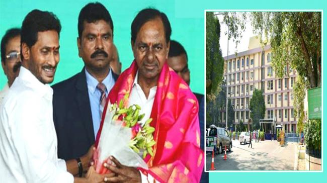 AP CM YS Jagan with Telangana CM K Chandrasekhara Rao - Sakshi Post