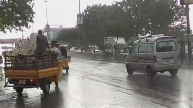 Rains lashed out several parts of the city bringing with it strong winds and thunderstorms - Sakshi Post