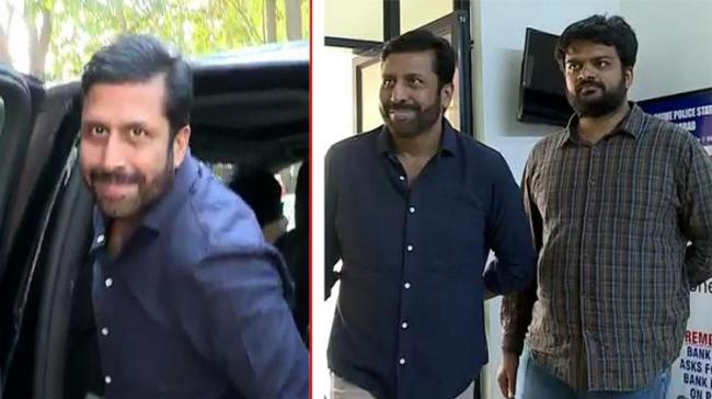 Former TV 9  CEO Ravi Prakash finally appeared before the Cyber Crime Police of Hyderabad - Sakshi Post