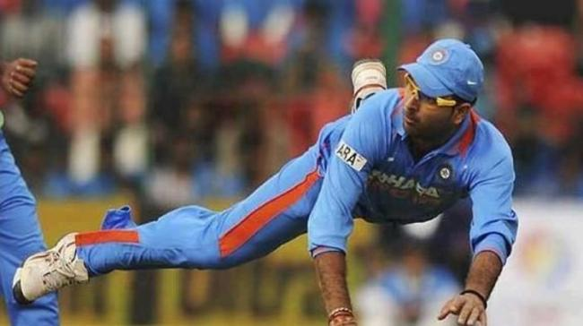 Yuvraj Singh's catches have changed the fate of many matches for India - Sakshi Post