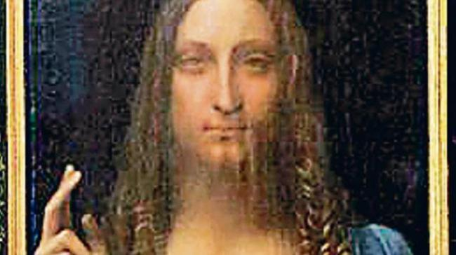 "Since its sale for a record $450 million, the whereabouts of the ""Salvator Mundi,"" said to be painted by Leonardo da Vinci, has become one of the art world's greatest mysteries. - Sakshi Post"