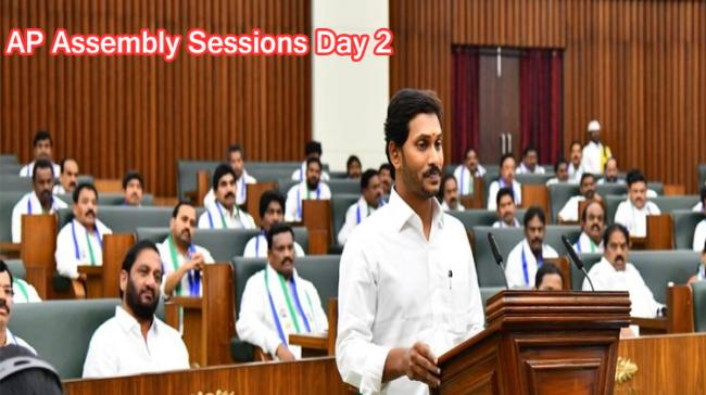 Watch: AP Assembly Sessions Day 2 Live - Sakshi Post