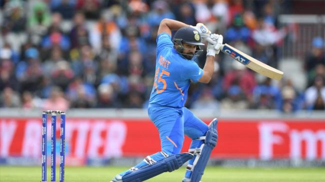 """Openers, led by vice-captain,<a href=""""https://english.sakshi.com/topic/rohit%20sharma""""> Rohit Sharma</a>, gave India a dream start and threw down the gauntlet to Pakistan in their heavyweight World Cup cl - Sakshi Post"""