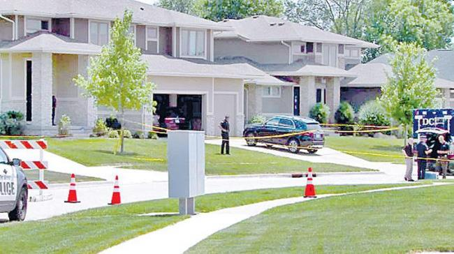 Four Telugu people of the same family were found dead in Iowa - Sakshi Post