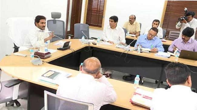 """<a href=""""https://english.sakshi.com/topic/ys%20jagan%20mohan%20reddy"""">YS Jagan Mohan Reddy</a> instructed officials to make the implementation of Navaratnalu a matter of priority, and make efforts to pool - Sakshi Post"""
