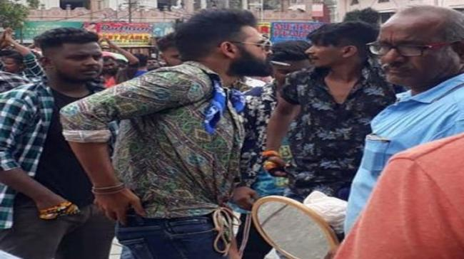 Ram was fined Rs 200 for smoking near Charminar - Sakshi Post