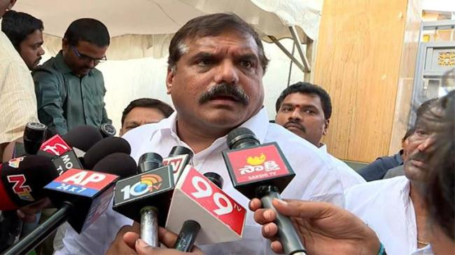 Muncipal Administration Minister Botsa Satyanarayana alleged that the TDP government had left Capital Region Development Authority (CRDA) - Sakshi Post