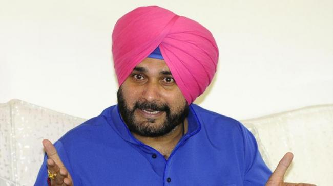"""""""I hereby resign as Minister from the Punjab Cabinet,"""" Sidhu said in the letter to the Congress chief, which he posted on his Twitter handle - Sakshi Post"""