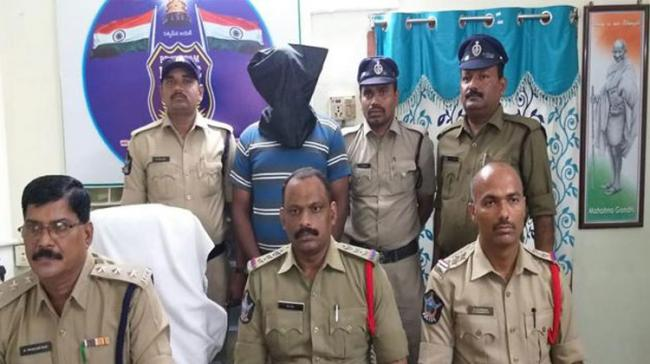 the Vijayawada police appeared to have cracked the case with fingers pointing to the deceased couple's 35-year-old son - Sakshi Post