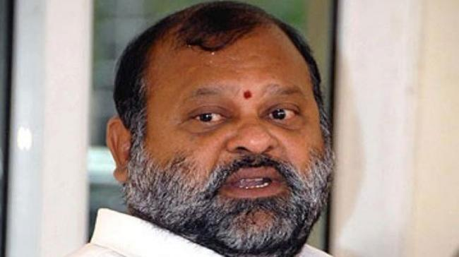 Congress leader and former minister of the erstwhile Andhra Mukesh Goud - Sakshi Post
