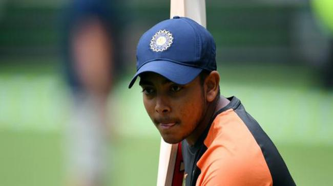 Talented India opener Prithvi Shaw was on Tuesday banned from all forms of cricket for a period of eight months after failing a dope test - Sakshi Post